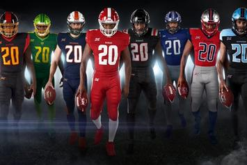 XFL Unveils Jerseys & Helmets For The Eight Inaugural Teams