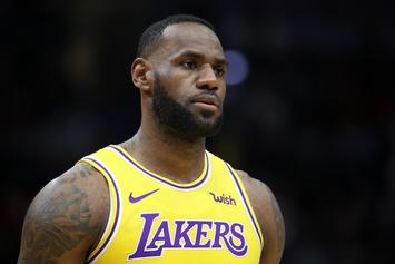 """LeBron James Accused Of """"Disrespect"""" By NBA Announcers"""