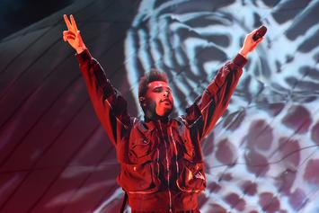 """The Weeknd's """"Heartless"""" Performance Gets Trippy Backstage On Colbert"""
