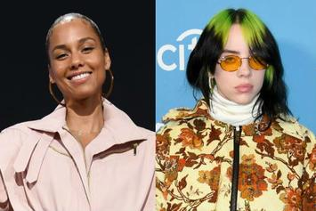 "Alicia Keys & Billie Eilish Surprise Talk Show Audience With ""Ocean Eyes"" Duet"