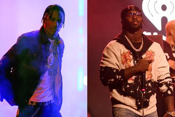 Travis Scott & Pop Smoke Are Cookin' Up Some Heat In The Studio