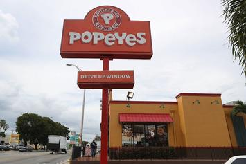 Popeyes Debuts Chicken Sandwich-Inspired Ugly Christmas Sweater