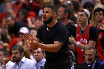 Drake, Patrick Beverley Exchange Words During Clippers-Raptors Game: Watch