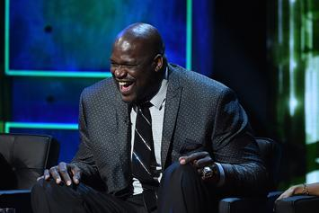Shaq Recalls Hilarious Stevie Wonder Story, Claims He Can Actually See