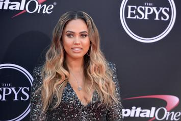 "Ayesha Curry Jokes About Size Of Her Baby Boy: ""We Birthed A Viking"""