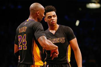 "Kobe Bryant & Byron Scott Were ""Frustrated"" By D'Angelo Russell's Work Ethic"