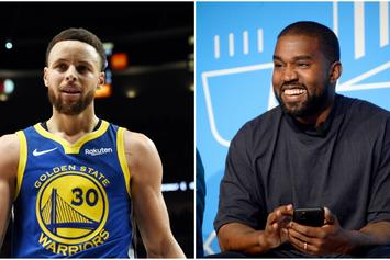 Steph Curry & Swizz Beatz Attend Kanye West's Sunday Service In L.A.