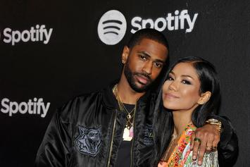 Big Sean & Jhené Aiko Back Together At Diddy's 50th Birthday Party