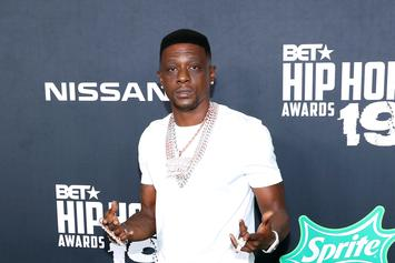 Boosie Badazz Gets So High That He Drives Off With Gas Pump