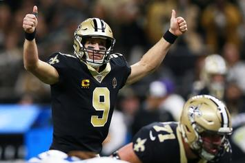 Drew Brees Addresses Saints Fans After Breaking Touchdown Record