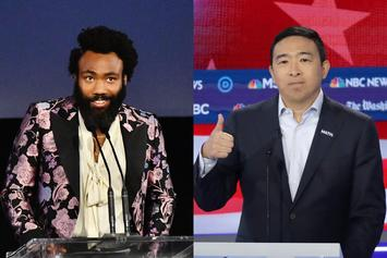 Donald Glover Lends Celebrity Endorsement To Andrew Yang For L.A. Pop-Up