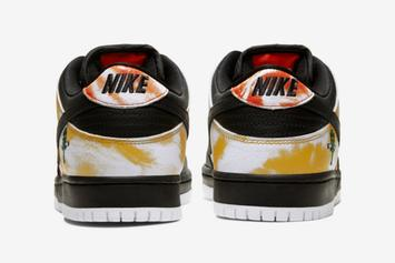"Nike SB Dunk Low ""Raygun"" Releasing In Two Tie-Dye Colorways"