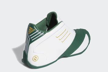 Tracy McGrady's Adidas T-Mac 1 Revealed In LeBron-Inspired SVSM Colorway