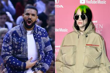 Drake Trolled With Savage Memes After Billie Eilish Turns 18