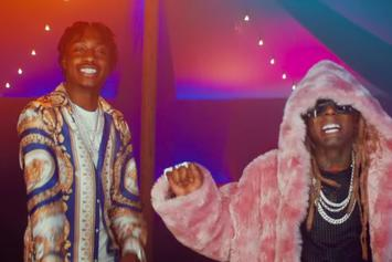 """Lil Tjay Heads To The Circus With Lil Wayne In """"Leaked (Remix) Video"""