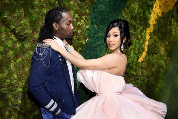 Cardi B & Offset Show Off Their Newly Purchased Mansion: See Clips