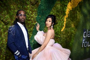 Offset Makes Cardi B Thirsty While Dressed Up As Santa For His Kids On Christmas