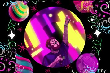 """Post Malone Shares Trippy Animated Visualizer For """"Circles"""""""