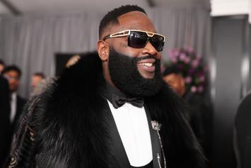 Rick Ross & His Son Literally Have The Same Face