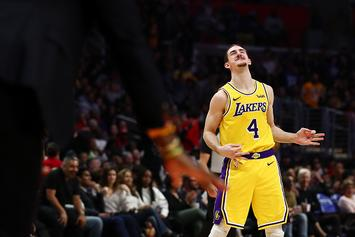 Lakers' Alex Caruso Trolls LeBron James On His '60th Birthday'