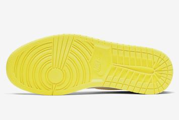 """Off-White x Air Jordan 1 """"Canary Yellow"""" New Release Information Revealed"""