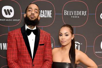 Lauren London Shares Photo Of Herself With Nipsey Hussle Last NYE