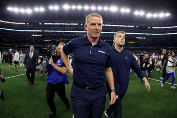 "Jason Garrett Is Reportedly A ""Fallback"" Head Coach For The Giants"