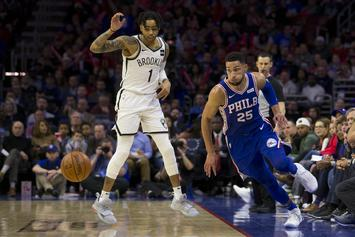 Ben Simmons For D'Angelo Russell Trade Rumored To Be Viable: Report