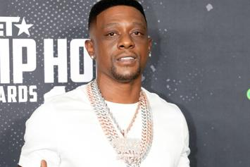 "Boosie Catches Fraternity Fire & Brimstone Over ""Kappa Alpha Psi"" Sweater"