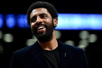 """Kyrie Irving On Being 2nd In All Star Guard Voting: """"I'd Vote For Myself As Well"""""""