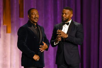 Jamie Foxx Returning To Stand-Up, Wants To Tour With Eddie Murphy