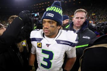 Russell Wilson Forced Into Random Drug Test During Exit Interview