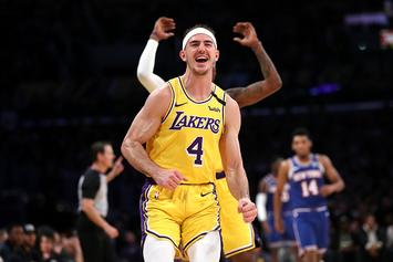 Lakers' Alex Caruso Reveals LeBron James' Nickname For Him