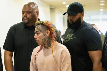 6ix9ine's Former Security Refuses To Work For Him, Not Worth Risk: Report