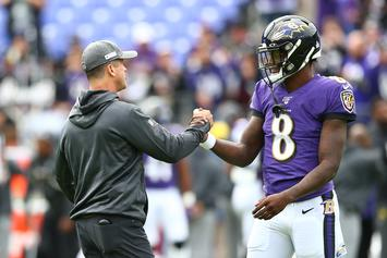 "John Harbaugh Defends Lamar Jackson: ""He's Younger Than Joe Burrow, OK?"""