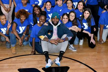 LeBron James Surprises Teens In Harlem With Citi Bike Memberships