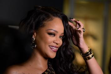 Rihanna Can't Contain Herself While Giving Unintentionally Raunchy Makeup Tutorial