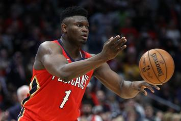Zion Williamson Reacts To His First Game With The Pelicans: Watch