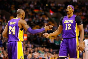 Lakers' Dwight Howard Wants Kobe Bryant To Help Him In Dunk Contest
