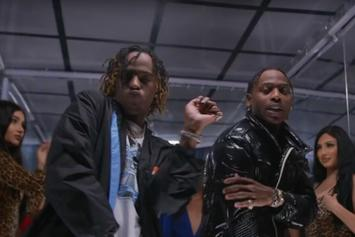 "Flipp Dinero & Rich The Kid Have A Message For Club Creepers With Their ""Looking At Me"" Music Video"