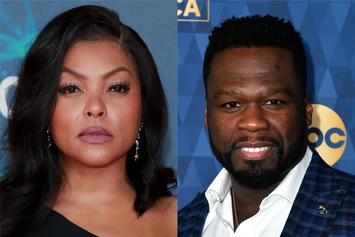 50 Cent Writes Taraji P. Henson Backhanded Apology For TV Rivalry