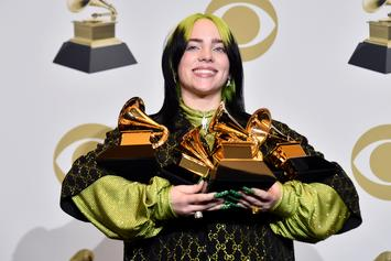Billie Eilish Becomes Second Artist Ever To Win Grammys In All Major Categories