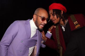 Swizz Beatz's Son Stole The Show With Skeleton Face Paint At Grammys