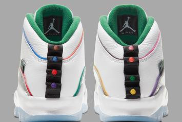 """Air Jordan 10 """"Wings"""" Pulls Inspiration From Chicago's Transit Lines: Release Info"""