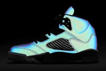 """Air Jordan 5 Drops In Reflective """"Oil Grey"""" Colorway: Purchase Links"""