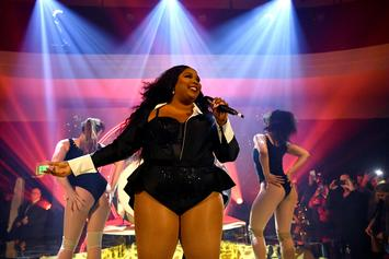 """Lizzo Brings Out Harry Styles For Surprise Performance Of """"Juice"""": Watch"""