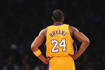 Kobe Bryant Shirts To Be Given Away To Fans At Staples Center Friday
