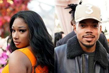 """Megan Thee Stallion Gets """"Punk'd"""" By Chance The Rapper With Gorilla: Watch"""