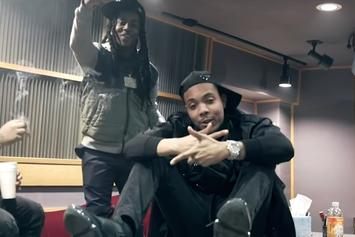 """G Herbo Rocks Out In The Booth In His Music Video For """"Sessions"""""""