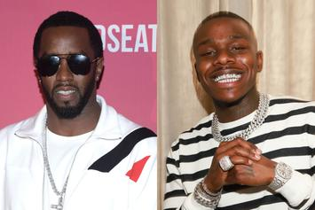 "Diddy Gifts DaBaby's ""Lil One"" $1K In Cash & Advises Him To ""Always Pay Your Taxes"""